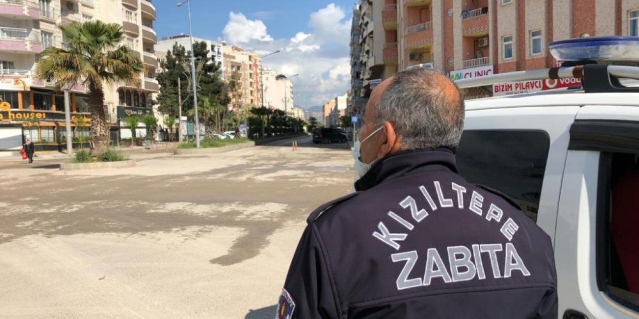 Kızıltepe'de sokağa çıkma yasağının ardından caddeler sessizliğe büründü