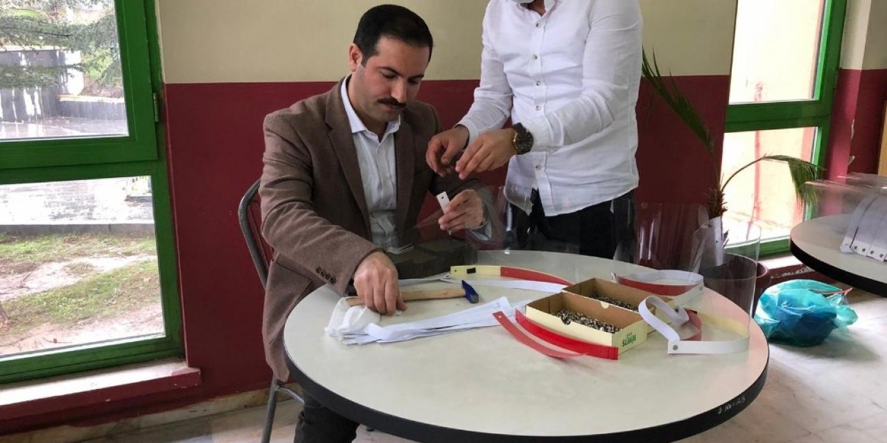Tatvan Belediyesinden siperlik maske üretimi