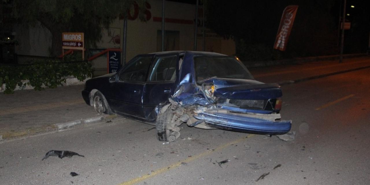 Alkol ve hız kazayı beraberinde getirdi