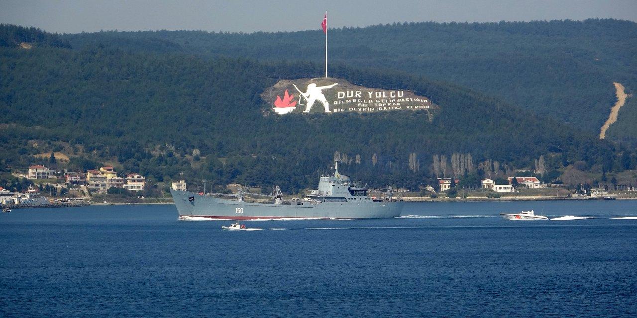 Rus savaş gemisi 'Saratov', Akdeniz'e iniyor