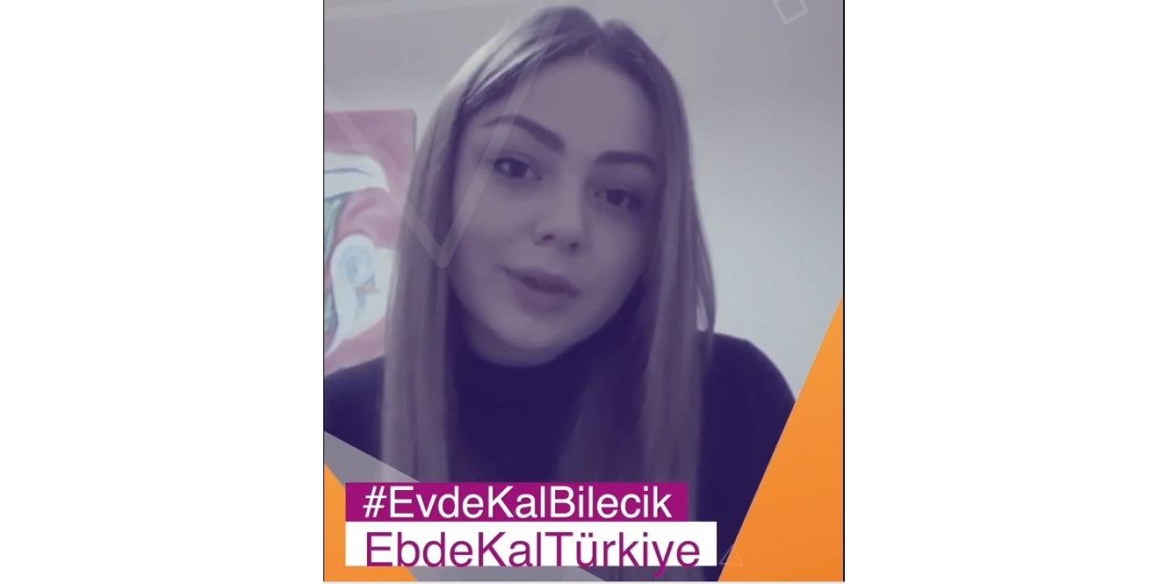"""TÖMER öğrencilerinden """"Evde Kal Bilecik"""" videosu"""