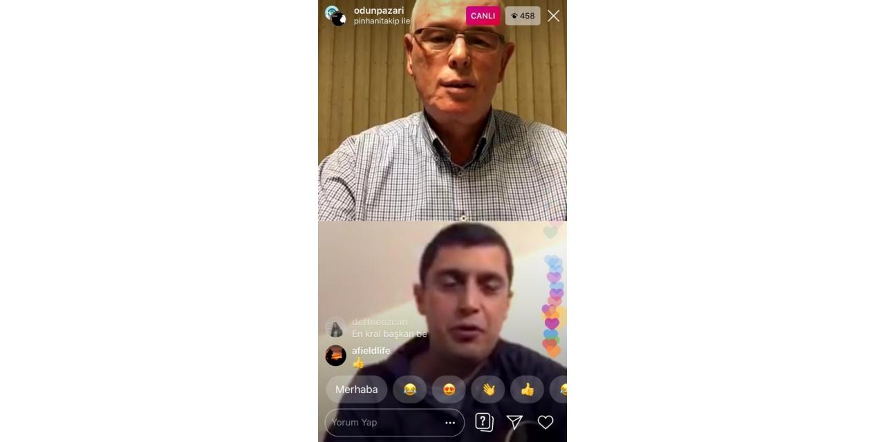 Instagram Konserlerinde Başkan Kurt'un konuğu Sinan Kaynakçı oldu