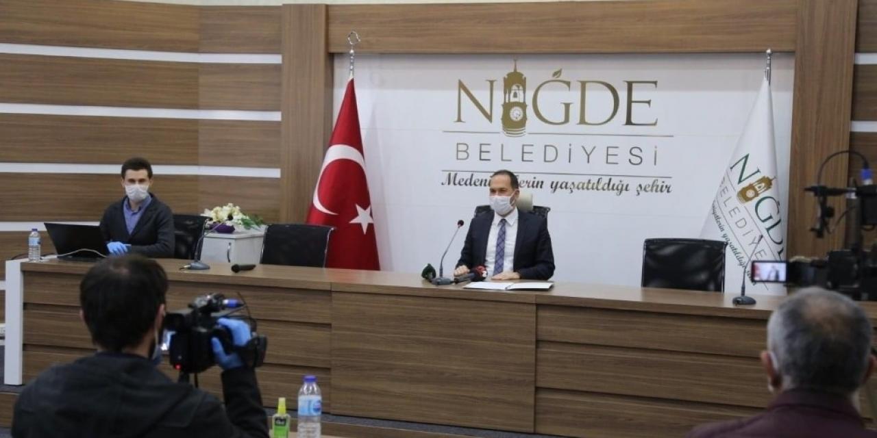 Niğde Belediye Başkanı Emrah Özdemir, ilk yılını hizmetlerle tamamladı