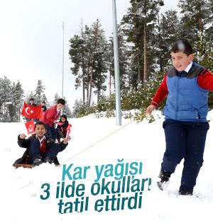 Hangi İllerde Okullar Tatil! İstanbul'da Okullar tatil edilecek mi?