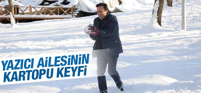 Tuzla Belediye Başkanı Şadi Yazıcı'nın Kar Keyfi