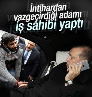 Erdoğan İntihardan Vazgeçirdiği Adamı İş Sahibi Yaptı