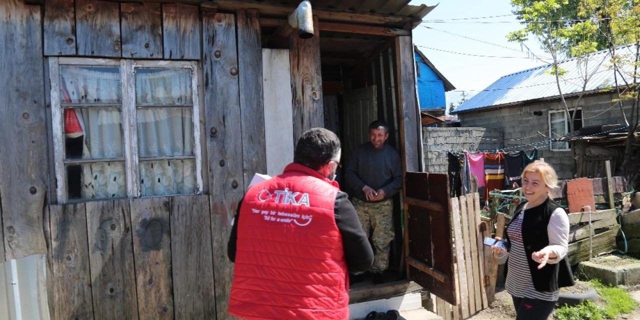 TİKA'dan Gürcistan'da bin aileye gıda yardımı
