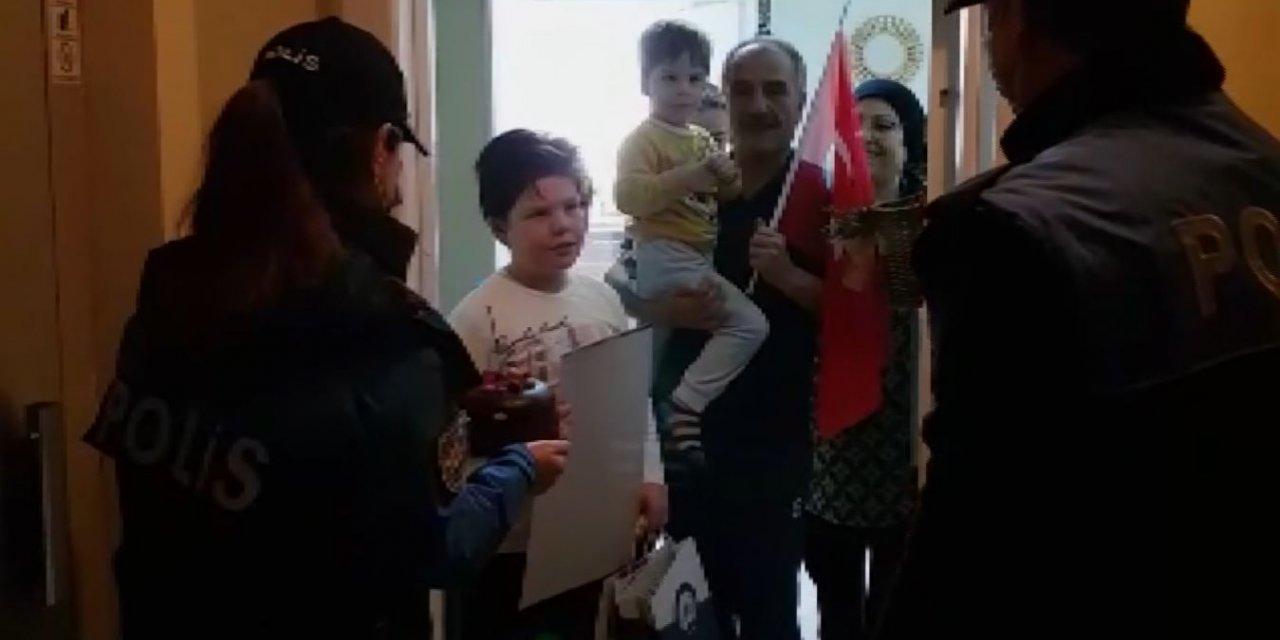 Polis, Ozan'ın doğum gününü kutladı