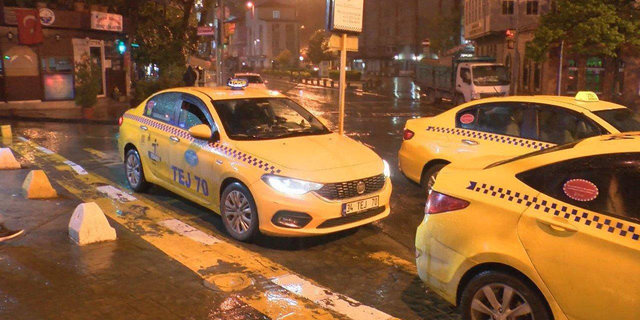Taksilerdeki tek-çift uygulaması 00.00 itibariyle sona erdi