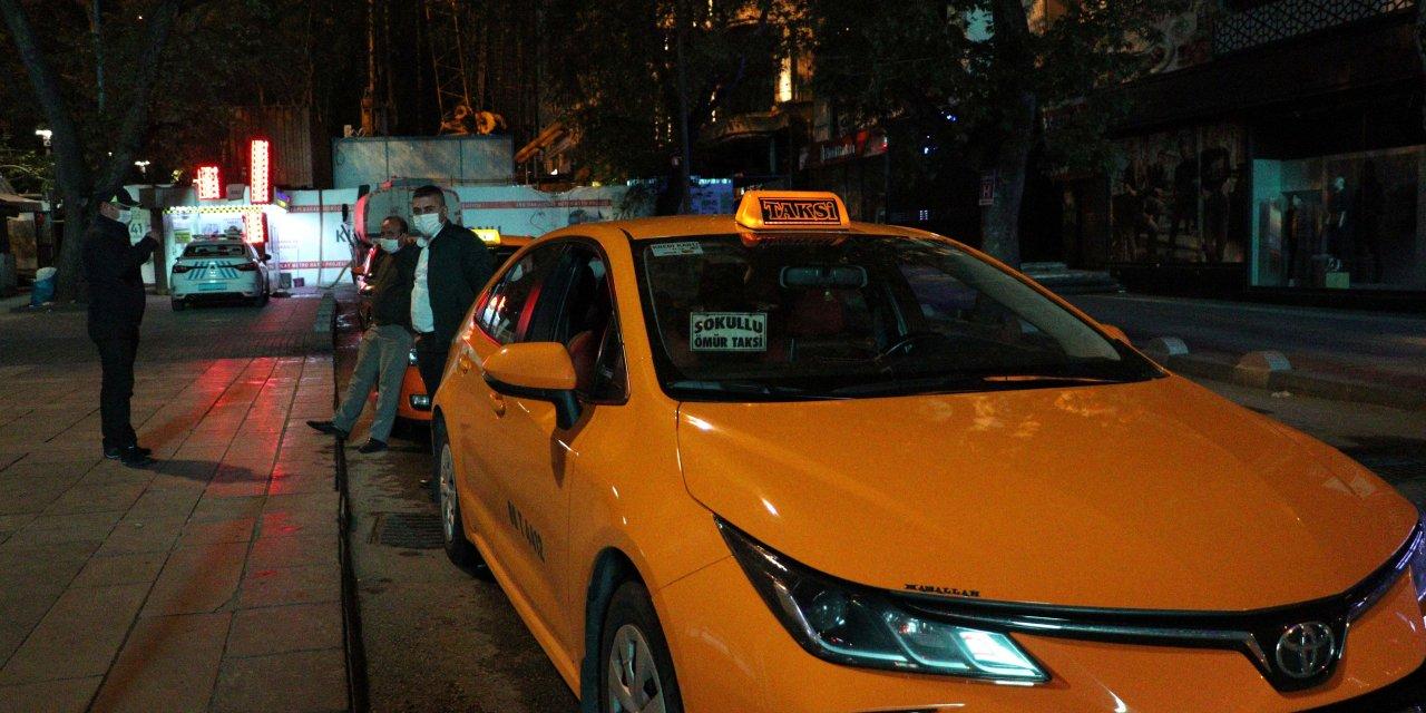 Taksilerdeki tek-çift uygulaması gece yarısı itibariyle sona erdi