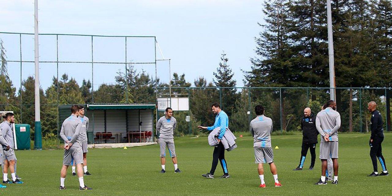 (TEKRAR) Trabzonspor 45 gün aradan sonra ilk antrenmanına çıktı