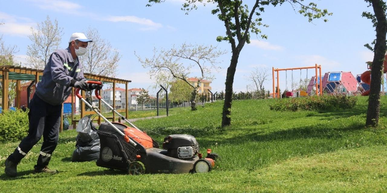 Ergene'de parklar yaza hazırlanıyor