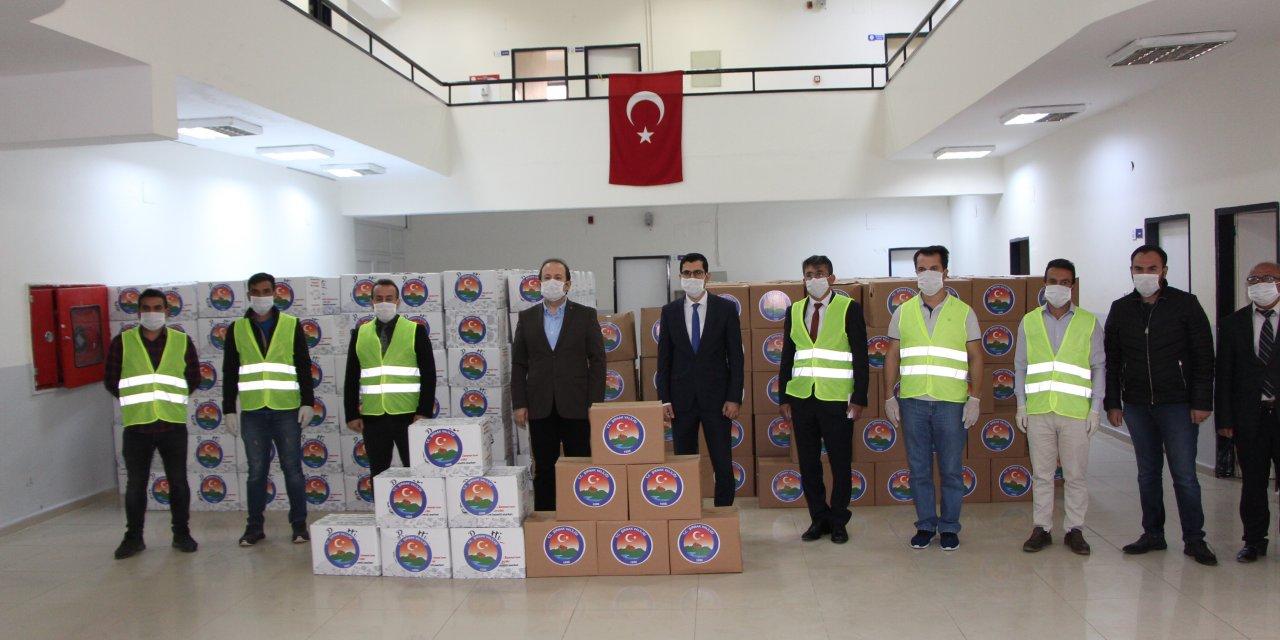 Şırnak'ta, 56 bin aileye 1000'er lira dağıtıldı