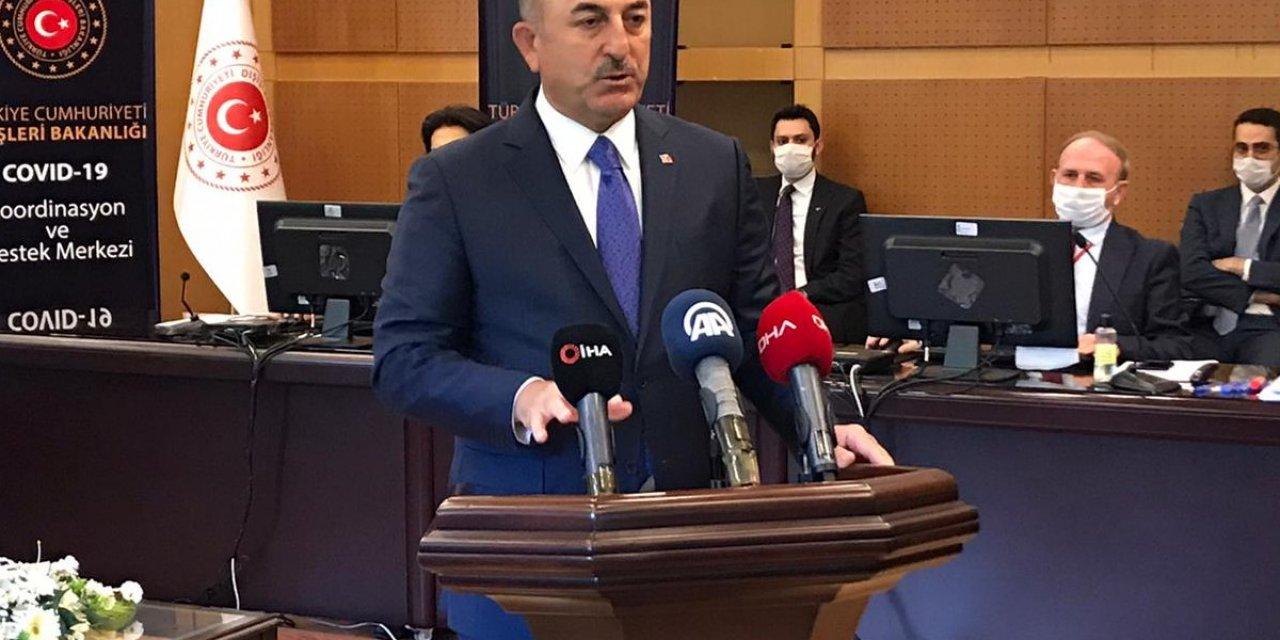 Bakan Çavuşoğlu: 103 ülkeden 65 binden fazla vatandaşımızı getirdik