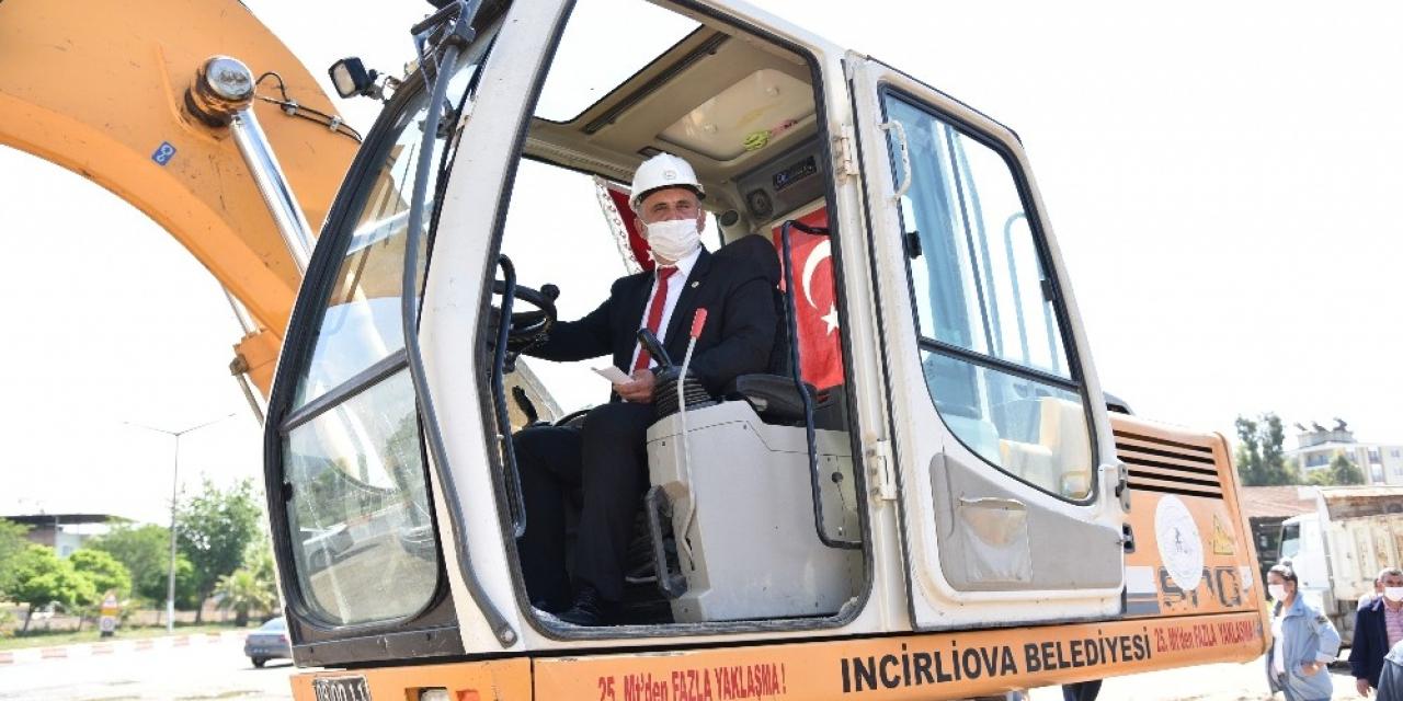 İncirliova borçla değil projelerle anılacak