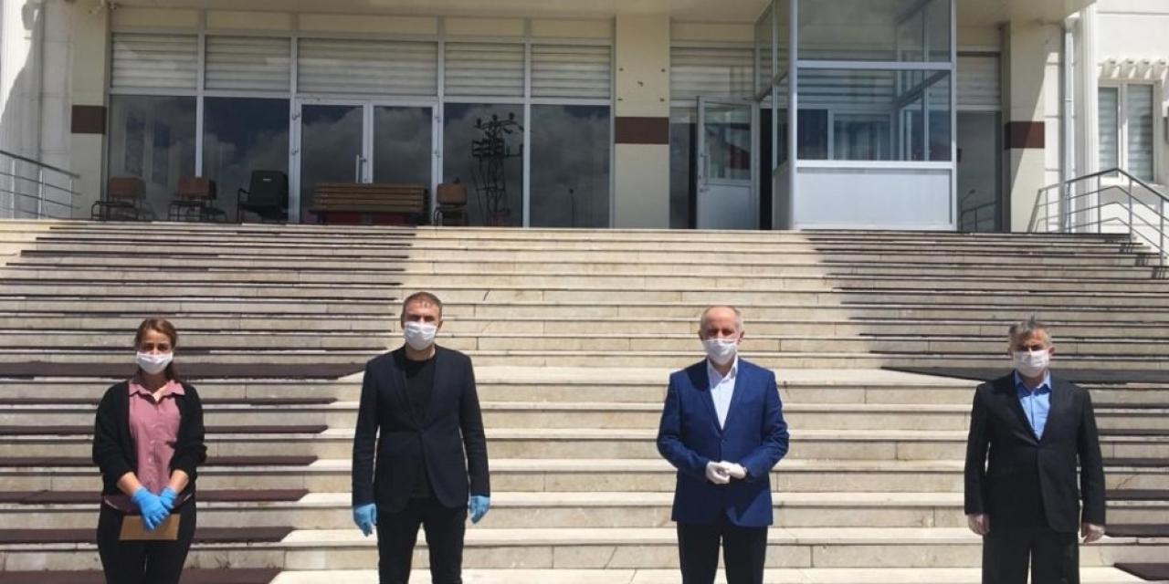 Karaman'da karantinadaki vatandaşlardan 'Biz Bize Yeteriz Türkiyem' kampanyasına destek