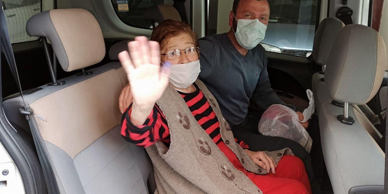 Kocasının dövdüğü 76 yaşındaki kadın, İzmir'e götürüldü