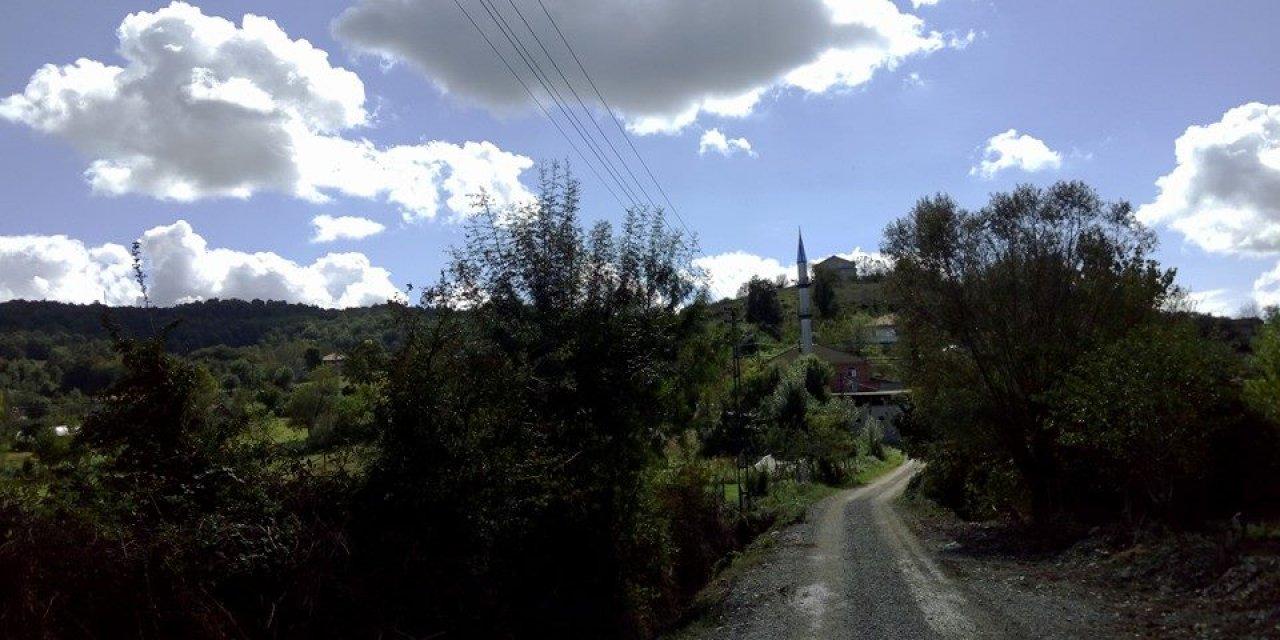 Zonguldak'taki köyde bir mahallesinde tedbirler artırıldı