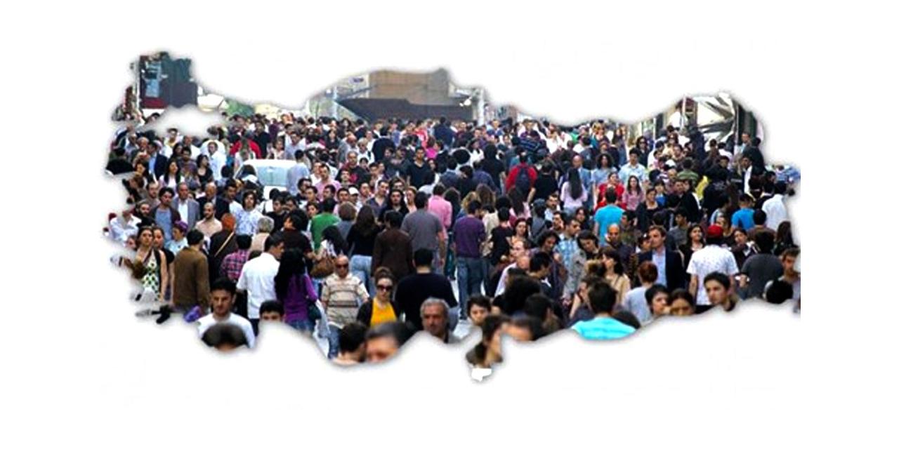 Türkiye'de ikamet eden nüfusun yüzde 3,2'si yurt dışı doğumlu