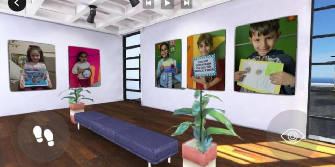 Miniklerin sanat sergisi bu yıl sanal ortamda gezilecek