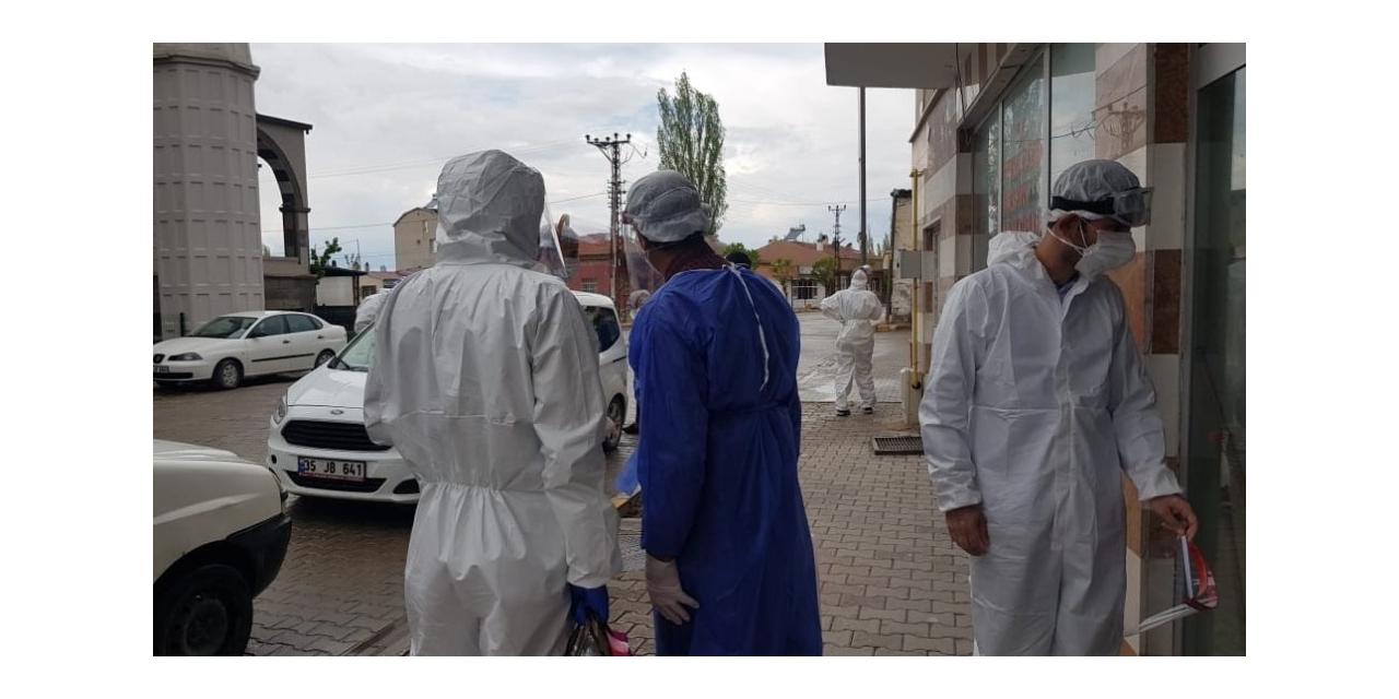 Korona virüs değil asılsız söylentiler kasabadaki iki mahalleyi etkiledi