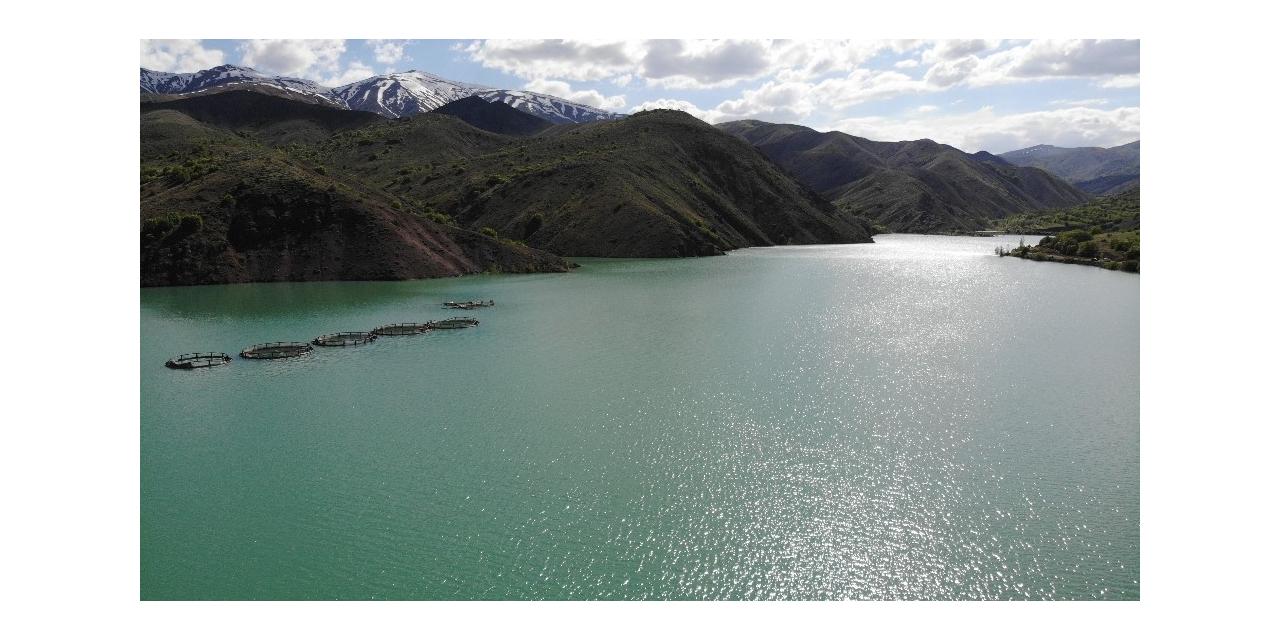 Karların erimesiyle Erzincan'daki barajlarda doluluk oranı arttı