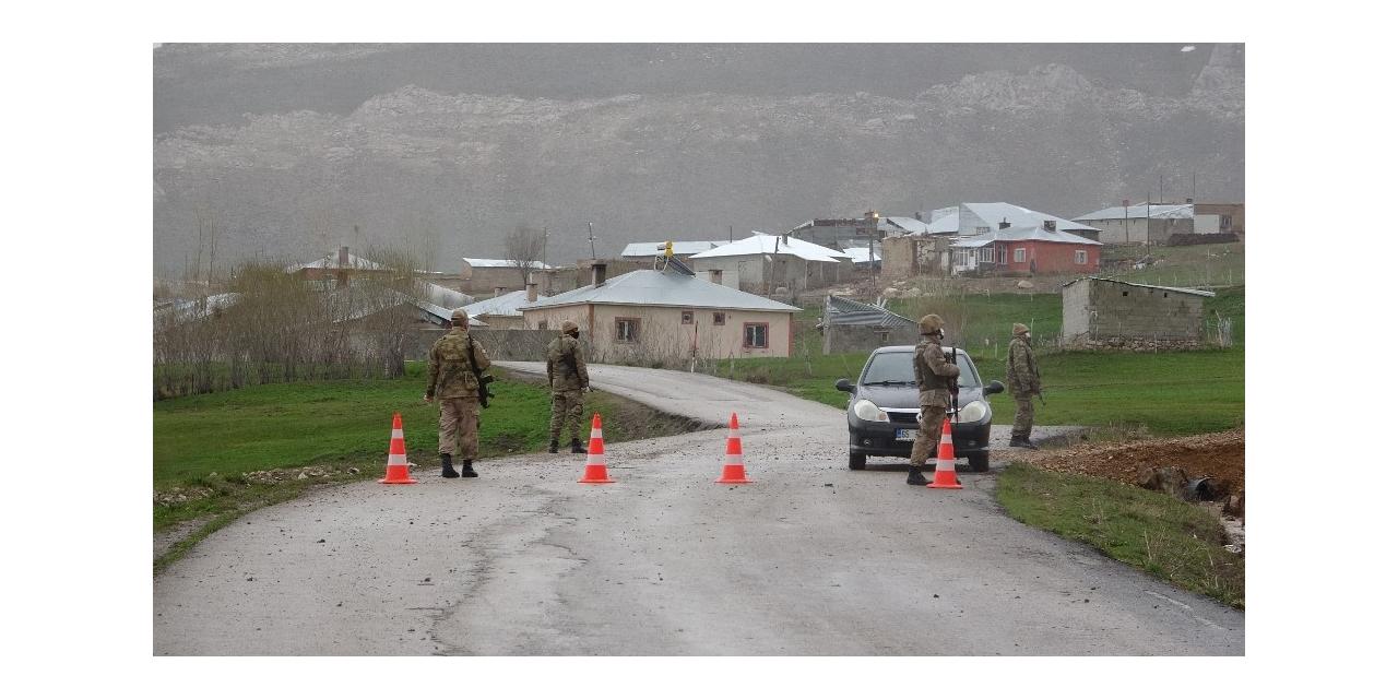Taziye kurulan mahallede 6 korona virüslü tespit edildi, 4 mahalle karantinaya alındı