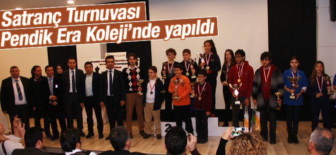 Satranç turnuvası  'Pendik Era Koleji'nde' yapıldı