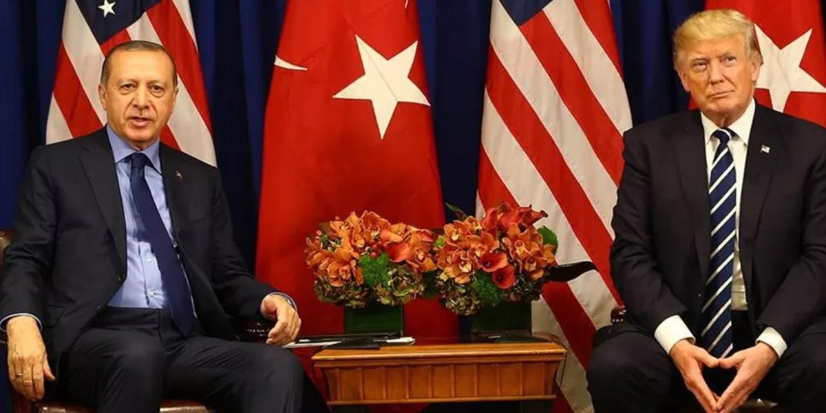 """ABD Başkanı Trump: """"Erdoğan ile iyi ilişkilerimiz var, olmasa ne olacak?"""""""