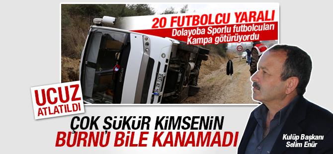Dolayobaspor Kulüp başkanı Selim Enür: Sporcularımızın Sağlık Durumu İyi