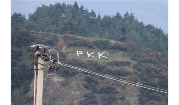 Dağa PKK yazanlar yakalandı