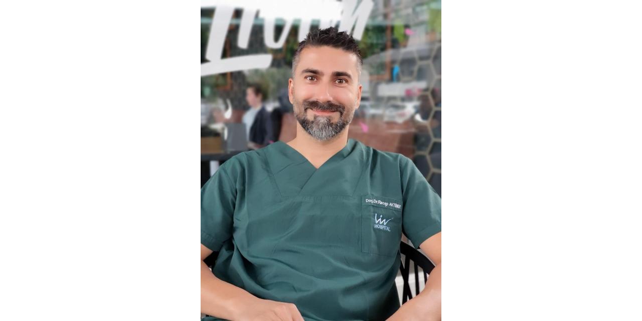 """Doç. Dr. Recep Aktimur: """"Tüp mide ameliyatların toplumsal algılar zorlaştırıyor"""""""