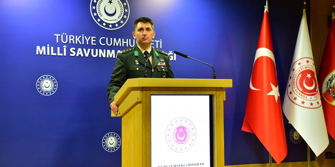 MSB: 1 Ocak'tan bu yana 1445 terörist etkisiz hale getirildi