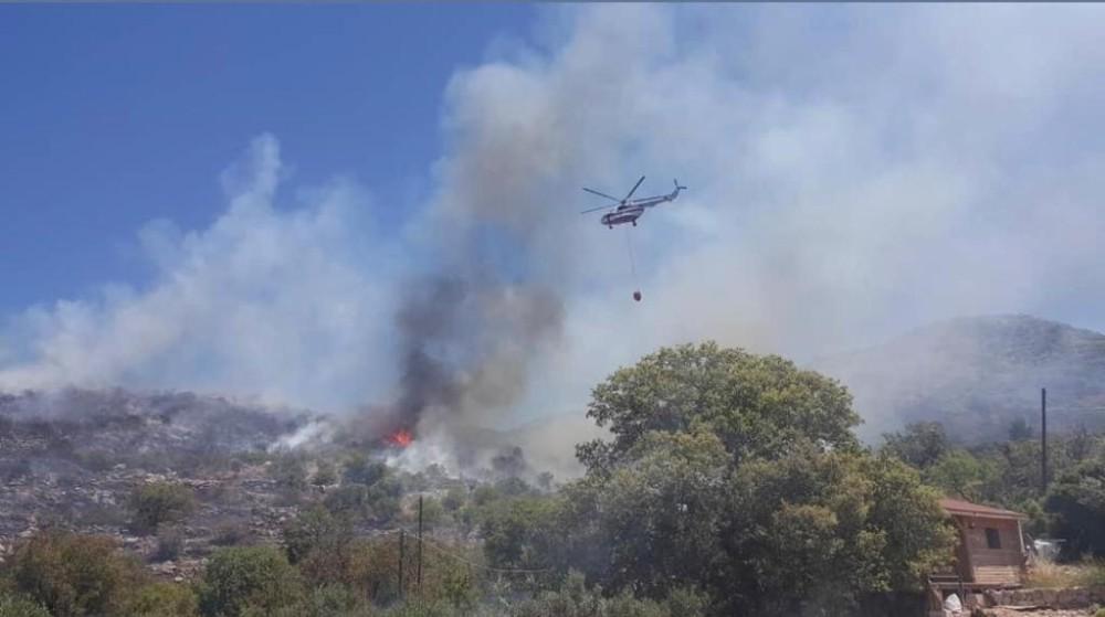 Son Dakika! Marmaris'te makilik alanda yangın çıktı!