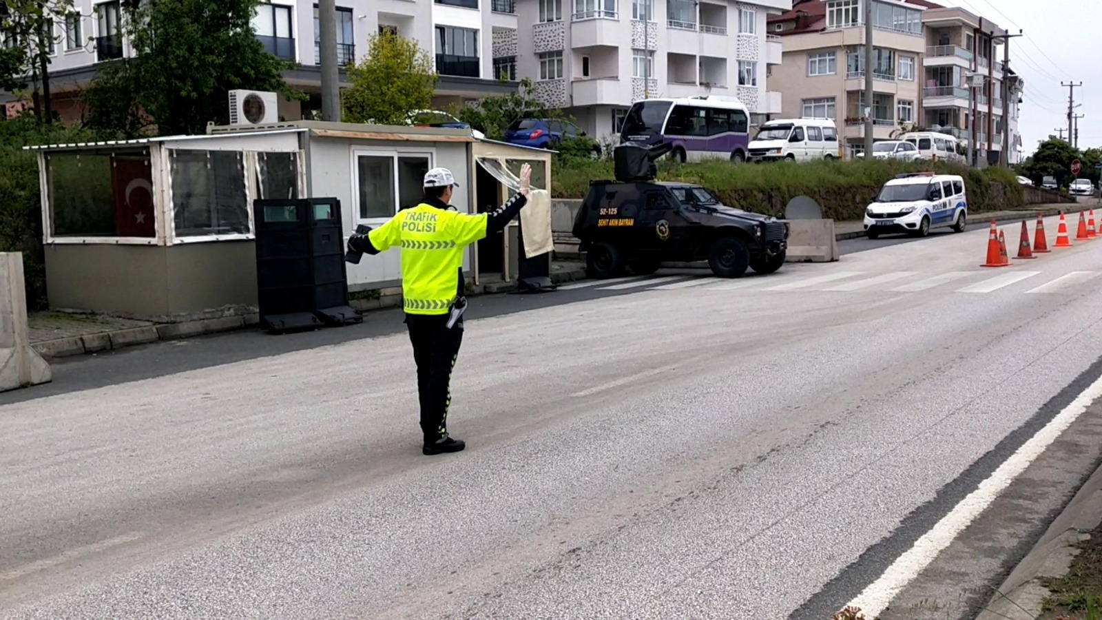 Ehliyetsiz sürücü 1200 km yol kat edip İstanbul'dan Trabzon'a geldi