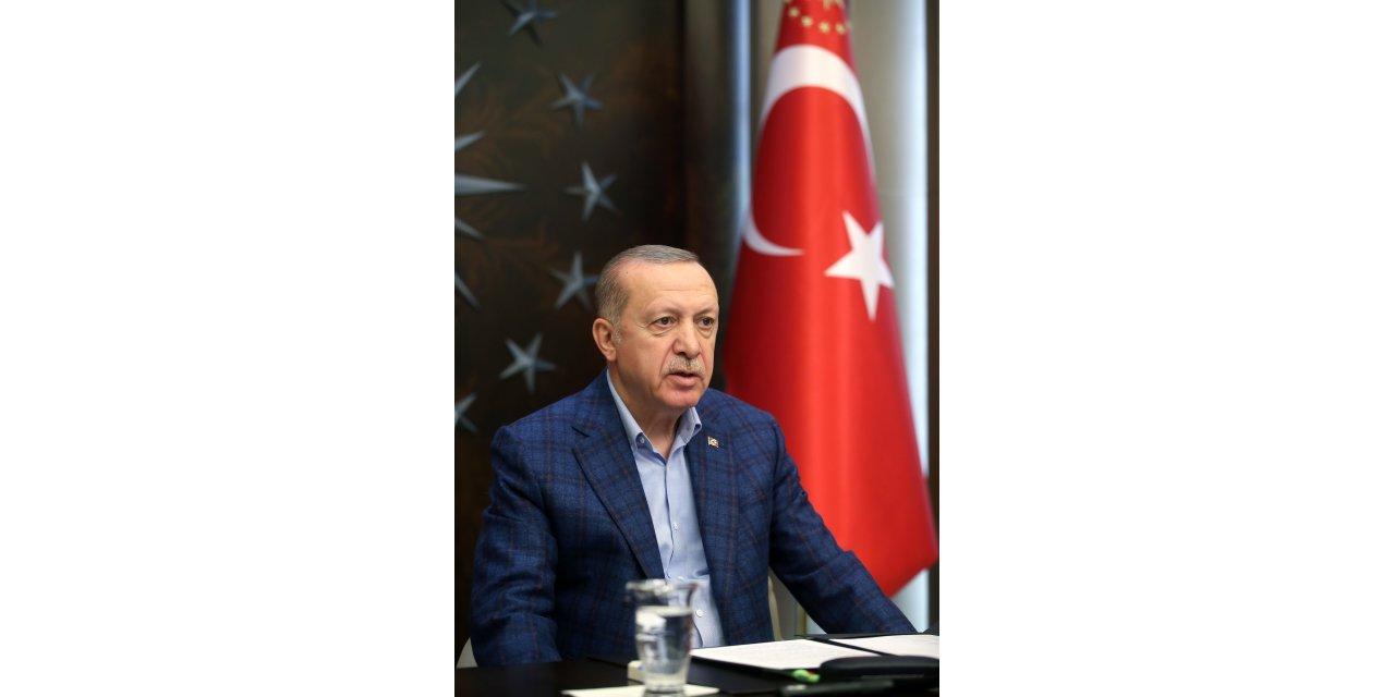Cumhurbaşkanı Erdoğan, Ak Parti İl Teşkilatına seslendi