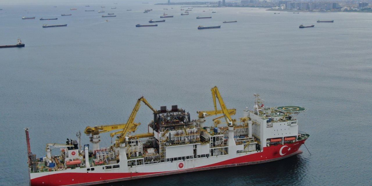 Platform söküldü: 'Fatih' sondaj gemisi harekete hazır (Havadan fotoğraflarla)