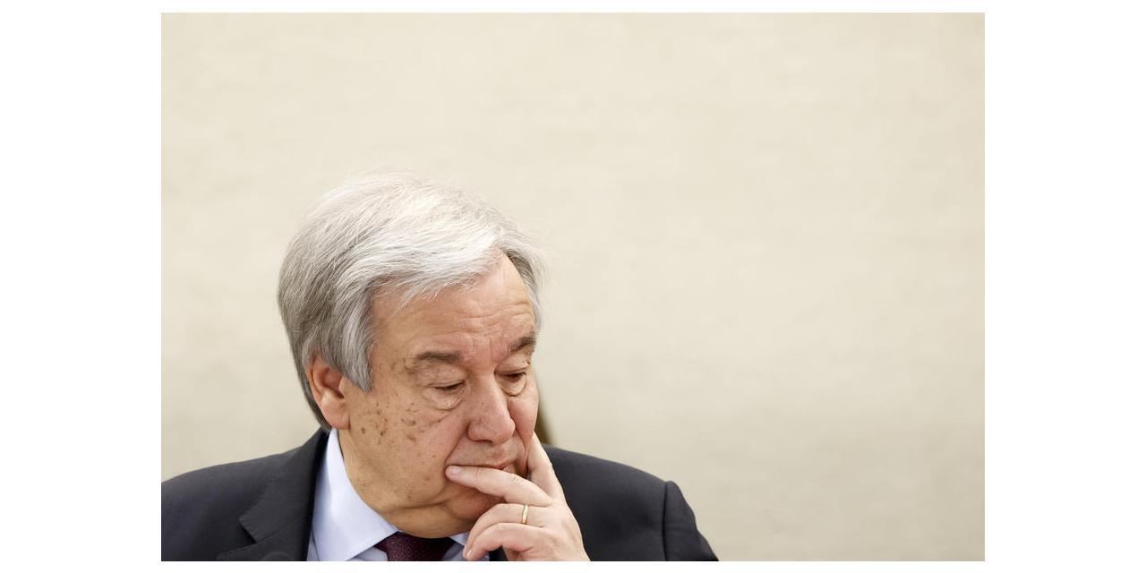 """BM Genel Sekreteri Guterres: """"Ne yazık ki ateşkes çağrımız somut karşılık bulmadı"""""""