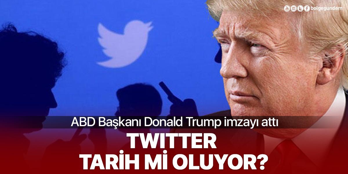 ABD Başkanı Donald Trump, sosyal medya kararnamesini imzaladı