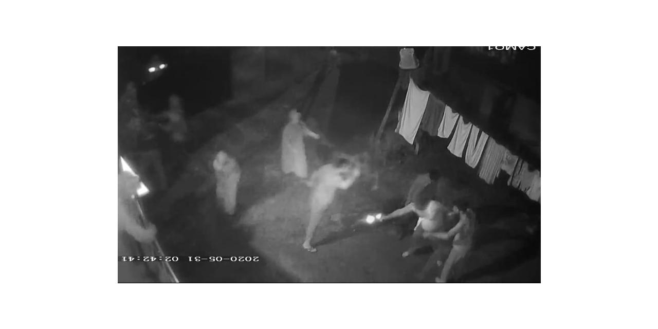 1 kişinin öldüğü 3 kişinin yaralandığı iki ailenin silahlı kavgası kamerada