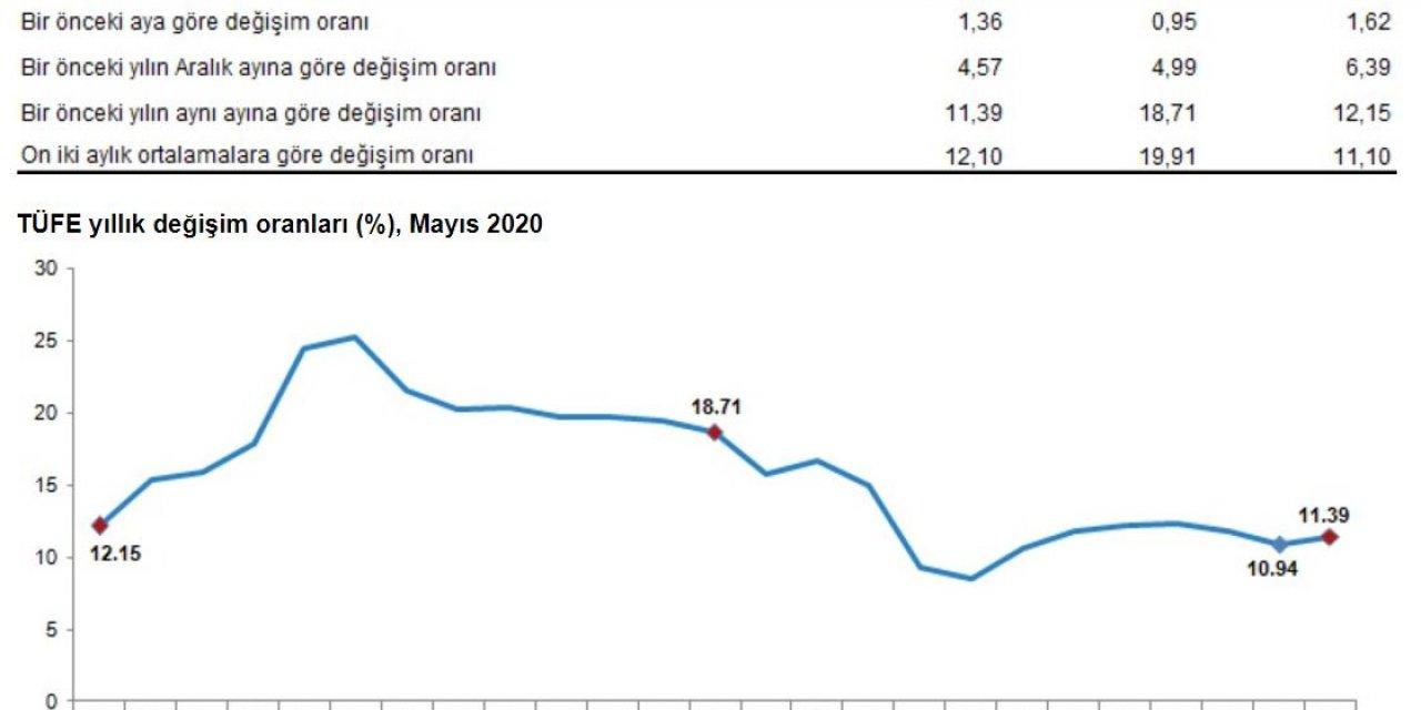 TÜİK - Tüketici fiyatları Mayıs'ta yüzde 1.36 yükseldi (2)
