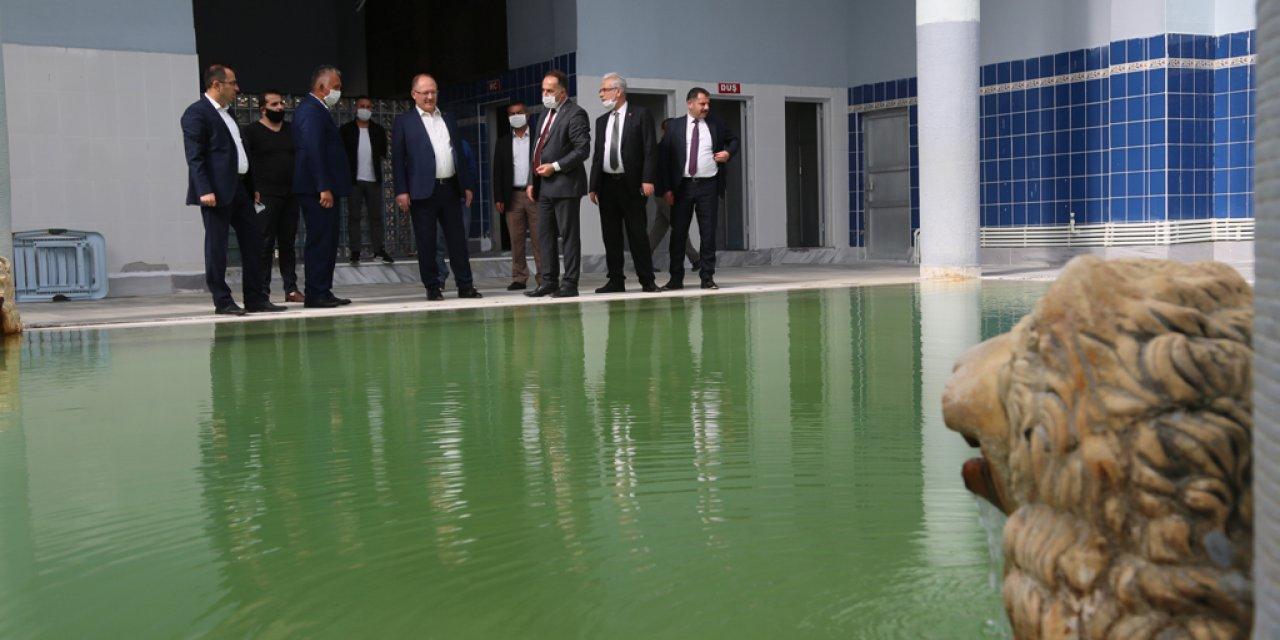 Sivas Sıcak ve Soğuk Çermik Kaplıcaları, cazibe merkezi olacak