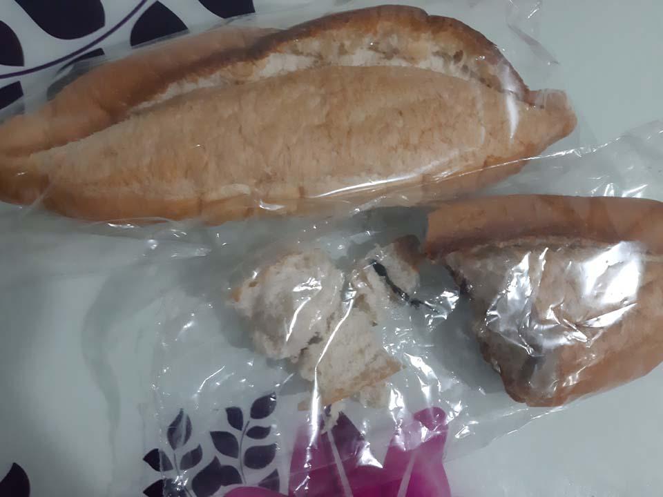 Paket ekmeğin içinden mide bulandırıcı görüntüler pes dedirtti!