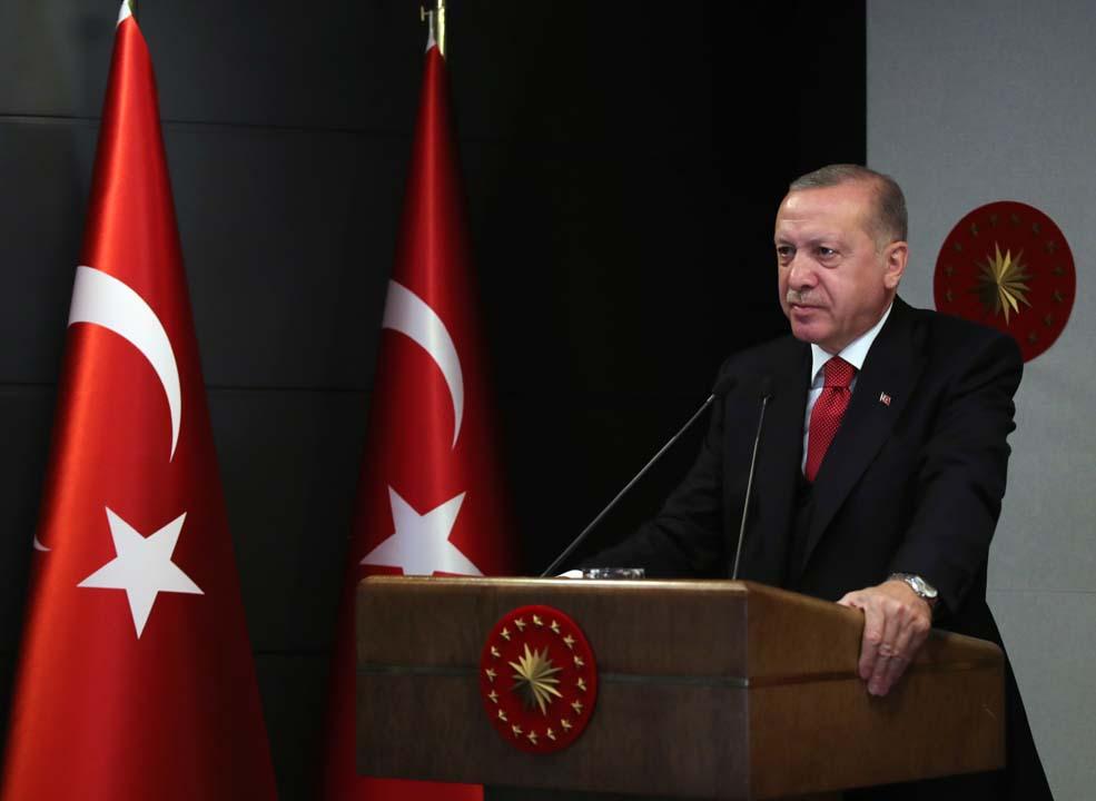 Cumhurbaşkanı Erdoğan: Ekonominin çarkları tam güç çalışmaya başladı