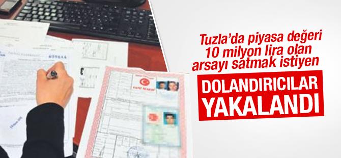 Tuzla'da Sahte Evrakla Tapu Satmak İsteyen 2 Kişi Yakalandı