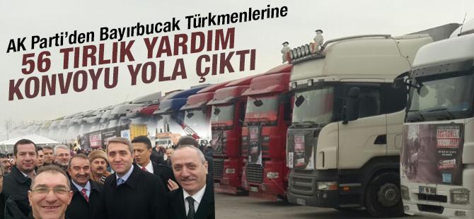AK Parti'den Bayırbucak Türkmenlerine ve Terör Mağduru vatandaşlara 56 Tırlık Yardım