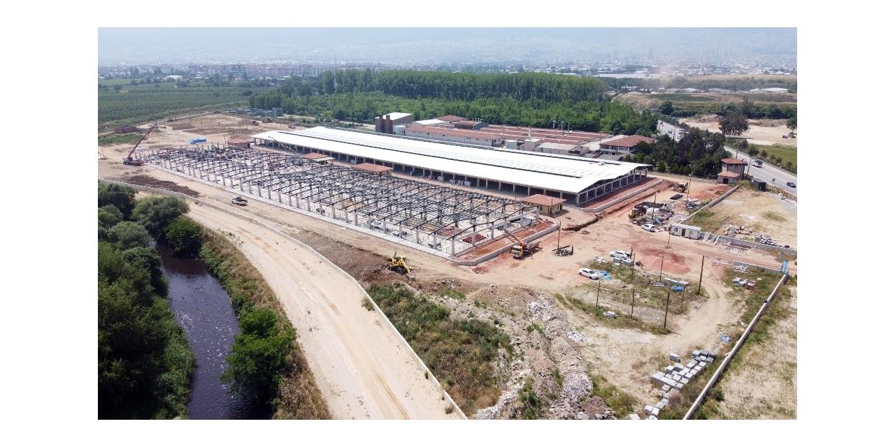 Osmangazi'de kurban satış ve kesim kompleksinin elektriği güneşten üretilecek