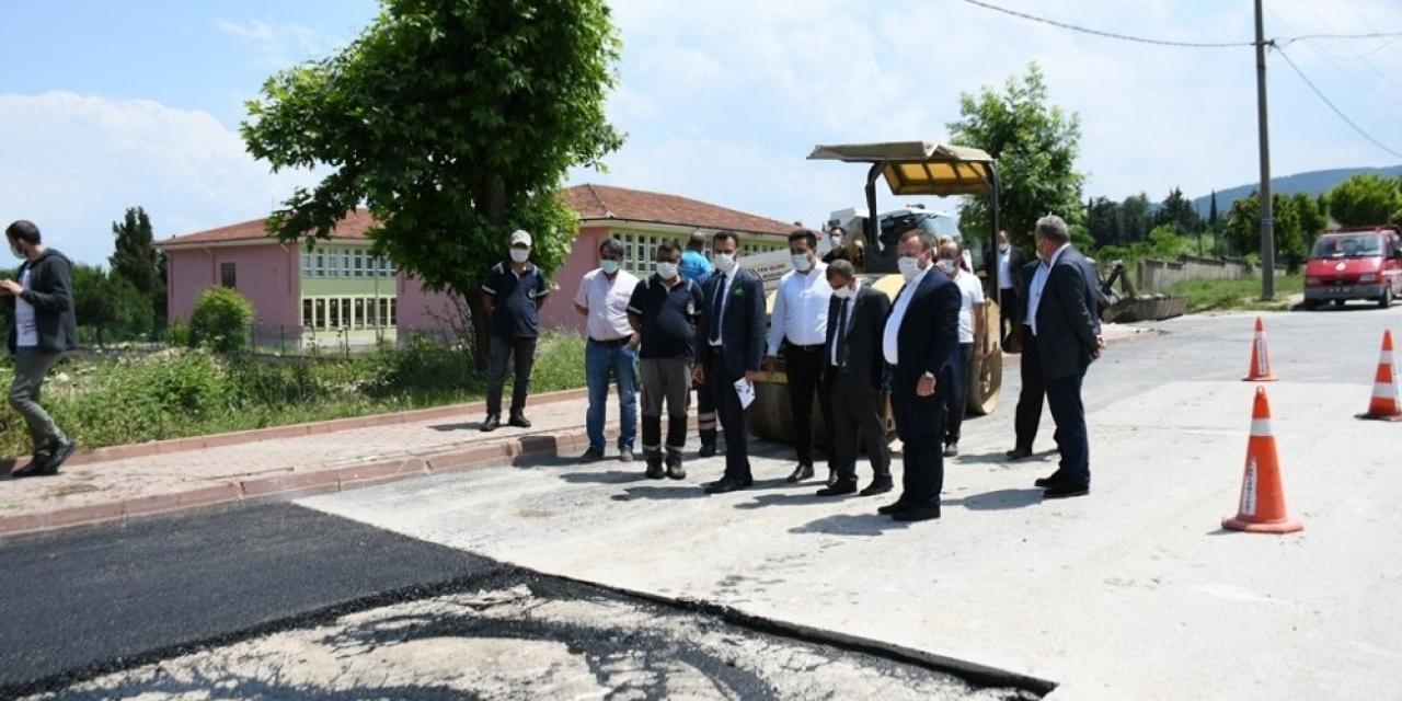 İnegöl Yeniceköy'de su baskınının yaraları sarılıyor