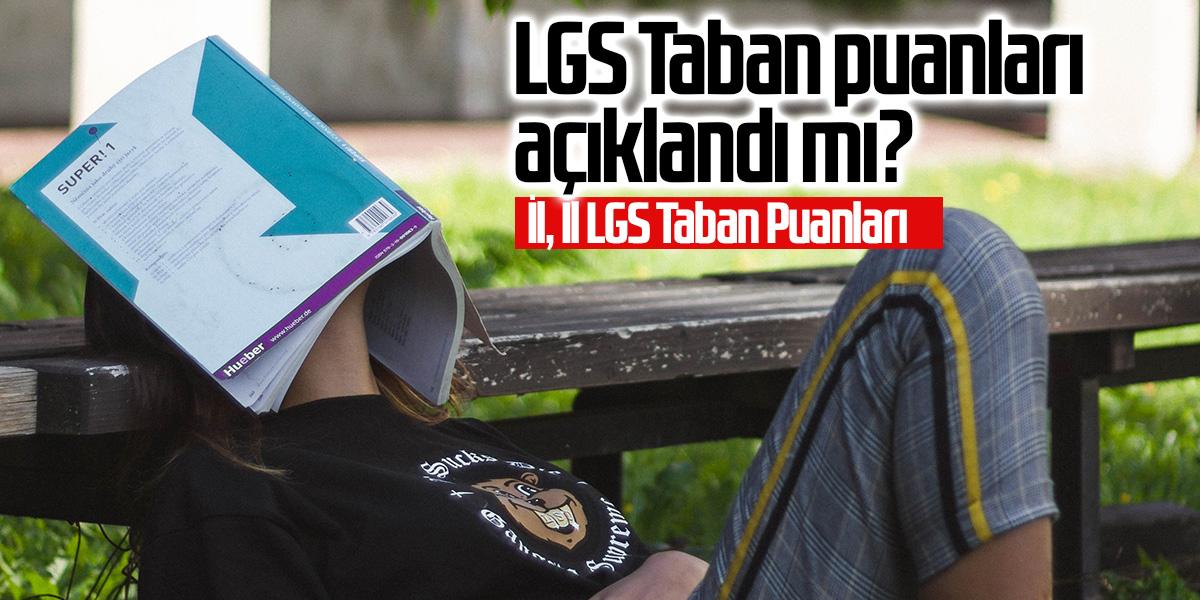 Isparta LGS Taban puanları 2020 - MEB Lise Taban puanları