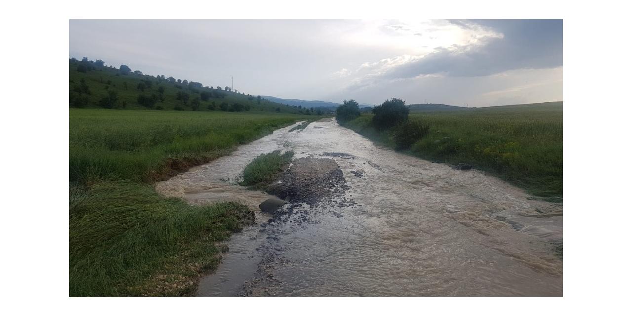 Kastamonu'da 15 gündür yağan dolu ve yağmur, tarım arazilerini vurdu